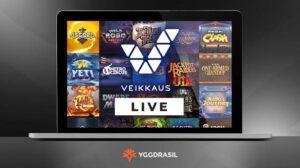 Yggdrasilin pelit Veikkauksen nettikasinolle
