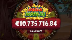 Mega Moolah on todellakin megaluokan peli